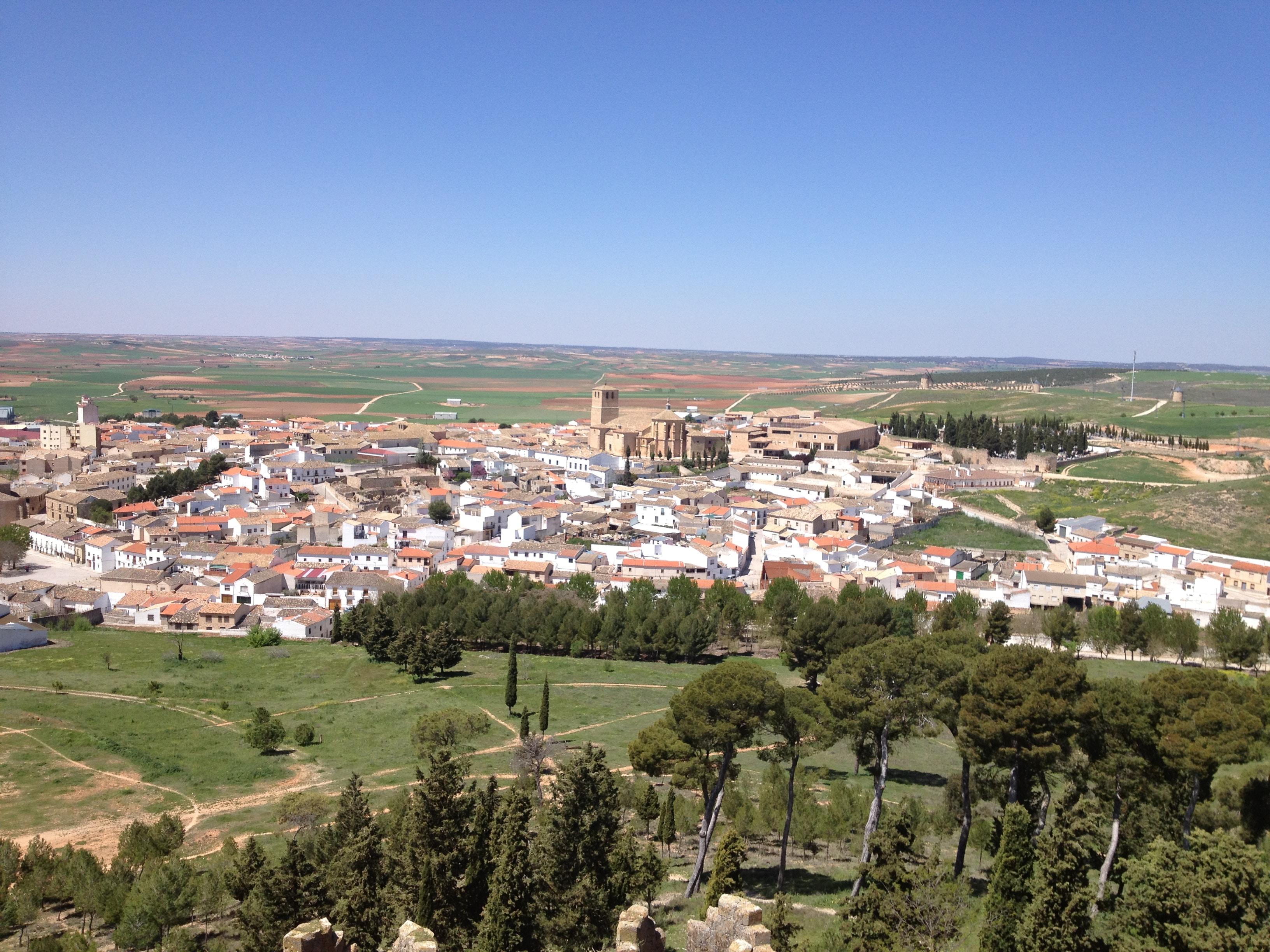 Castillo de Belmonte Panorámica
