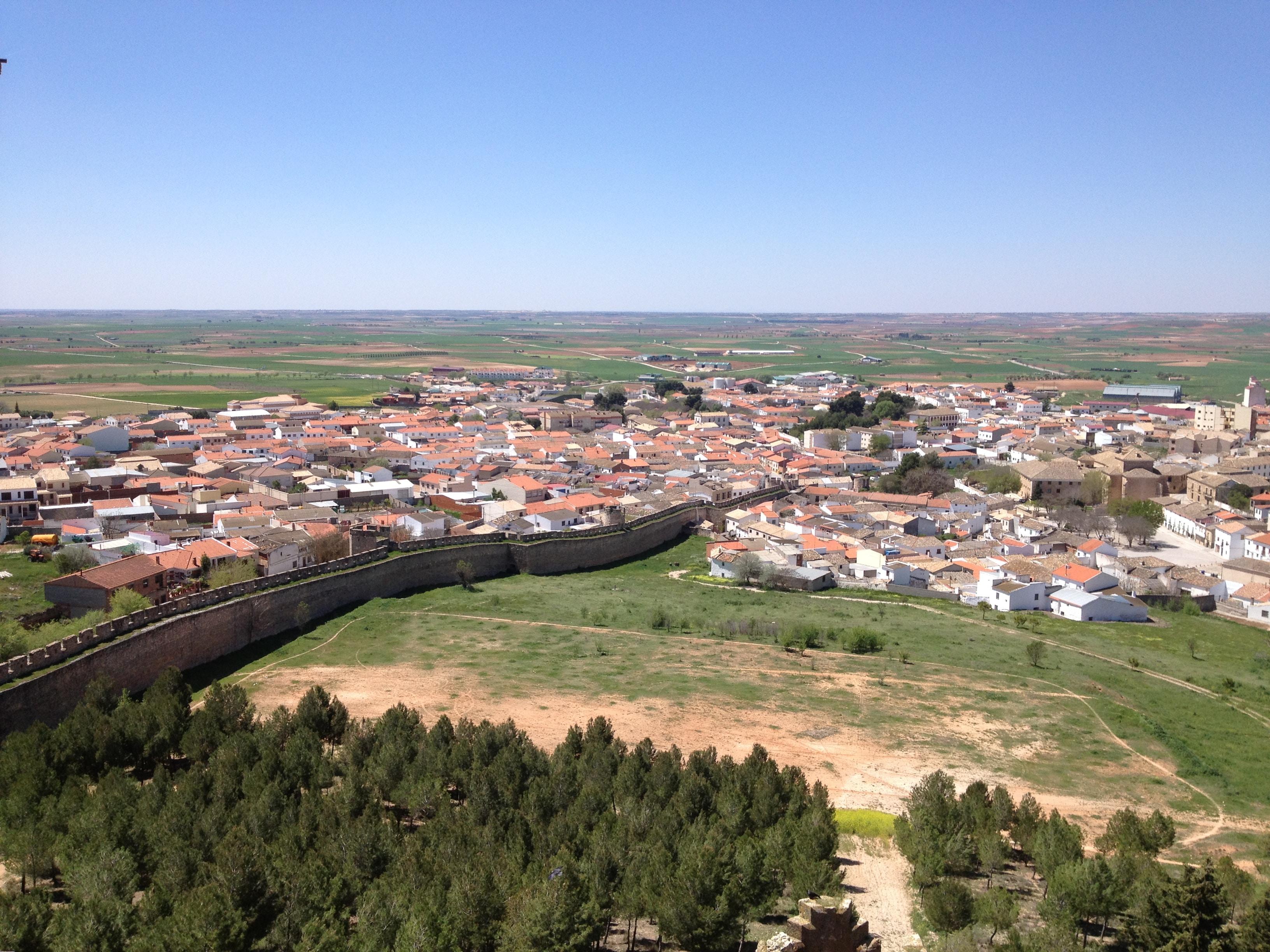 Castillo Belmonte - Panorámica