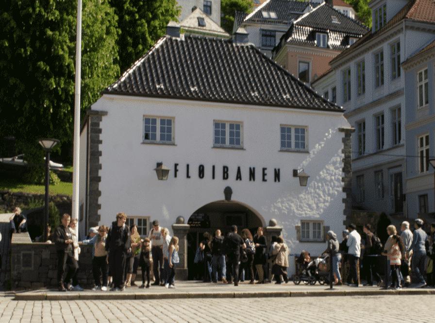 Funicular Floibanen Bergen