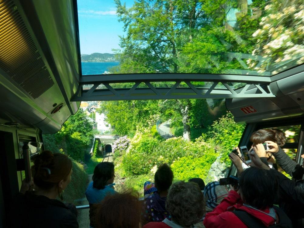Funicular Fløibanen Bergen