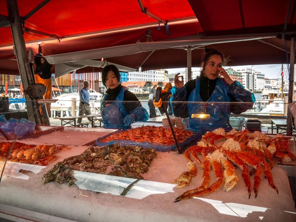 Mercado pescado Bergen