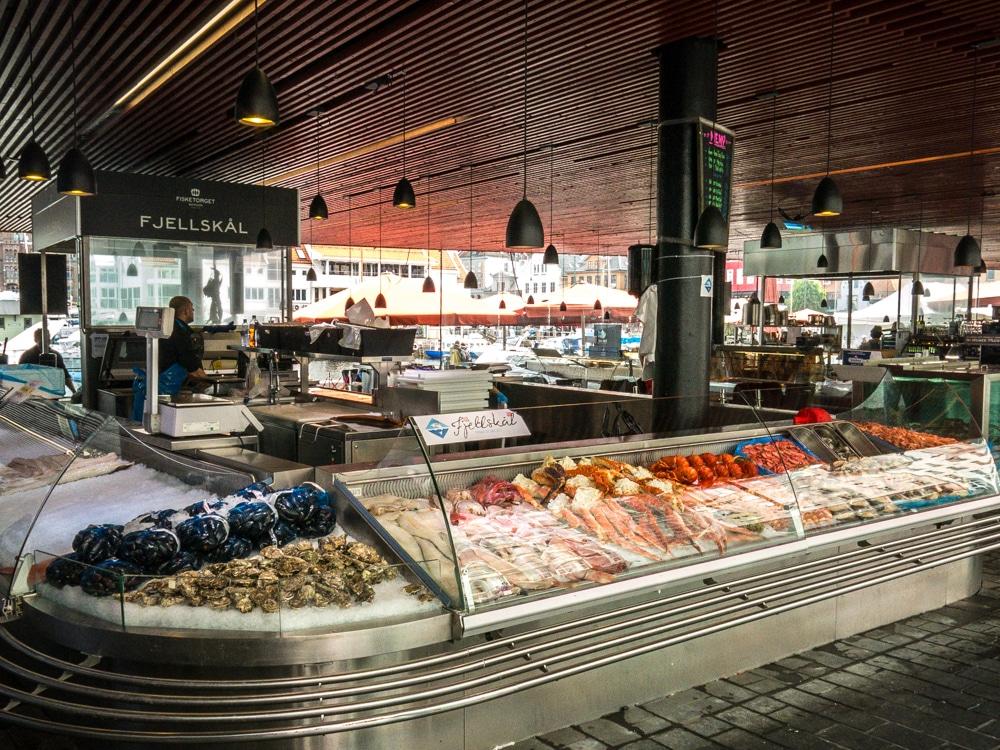 Mercado pescado Bergen 1