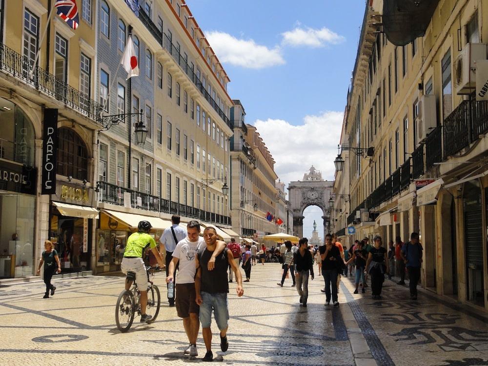 Arco Rua Augusta Lisboa