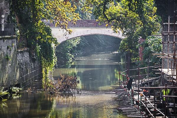 Puente del amor en Praga