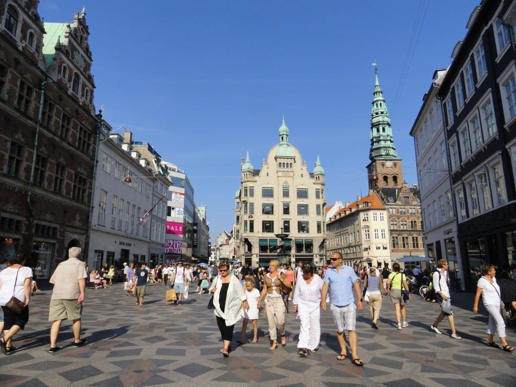Stroget Copenhague