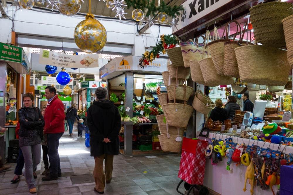 Mercado de santa catalina viaje al atardecer - Decoracion navidena para negocios ...