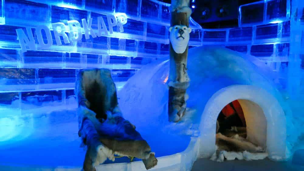 Ice Bar Laponia Noruega Honningsvag-3
