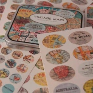 Pegatinas vintage Mr. Wonderful