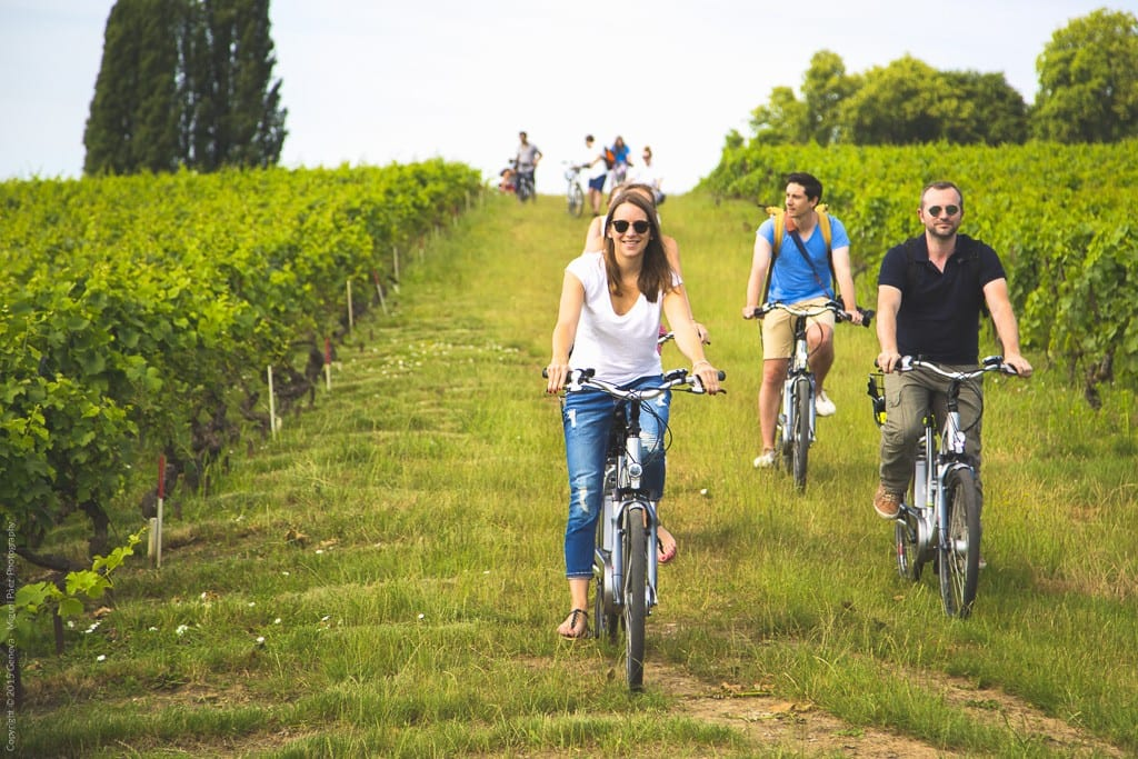Ginebra en bicicleta