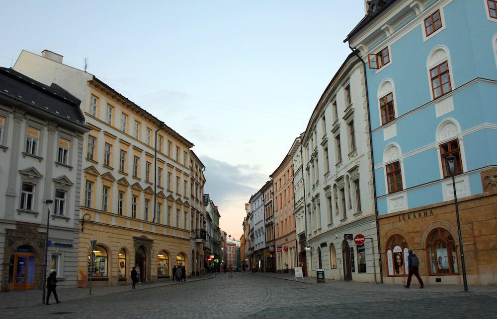 Calles de Olomouc